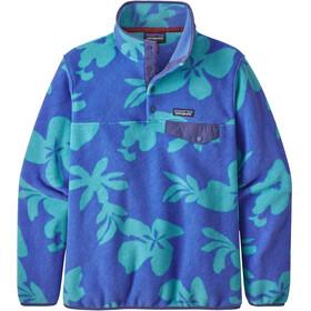 Patagonia Lightweight Synch Snap-T bluse Damer, blå/turkis